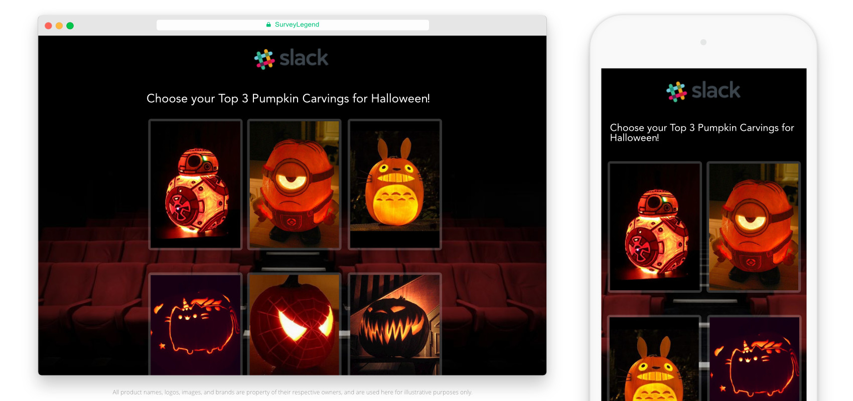 how to make a pumpkin carving contests for halloween | surveylegend ®
